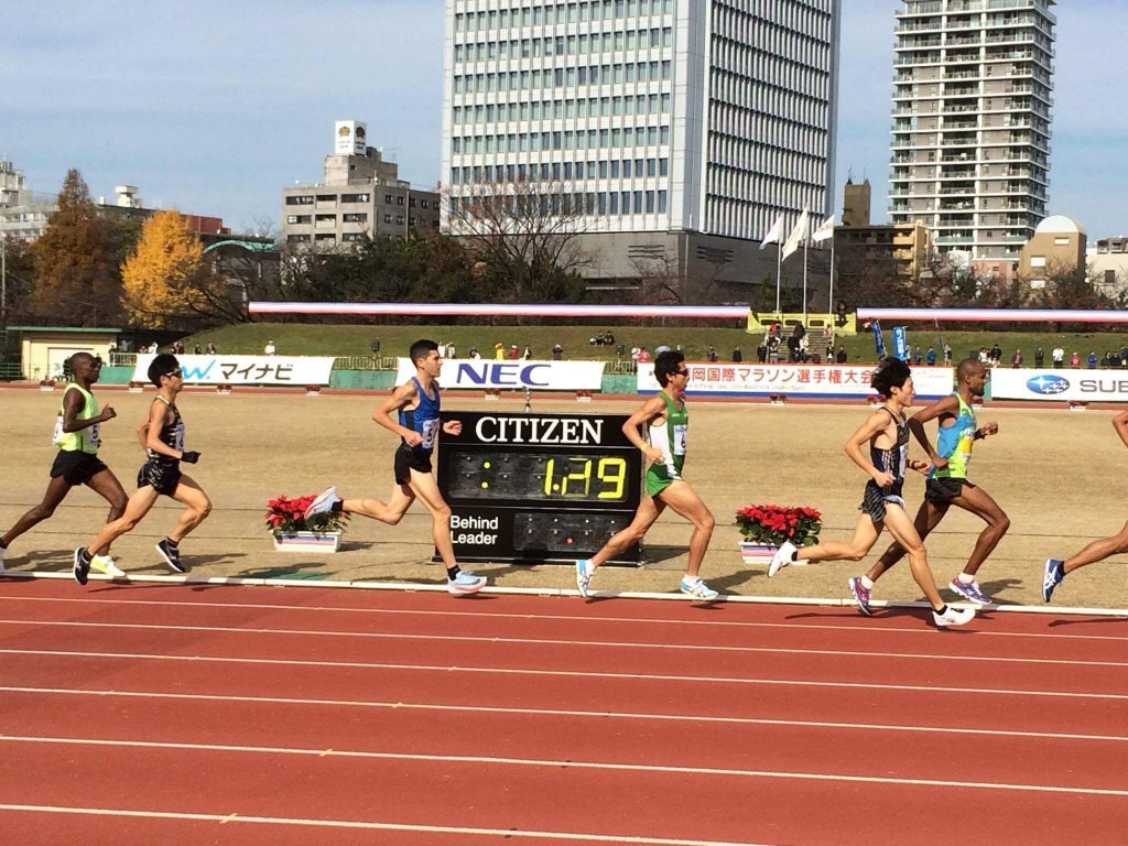 Tom Do Canto Fukuoka Marathon 2017