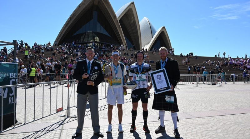 4 World Records at Sydney Running Festival!
